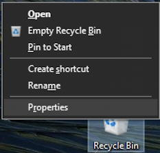 windows 10 properties menu