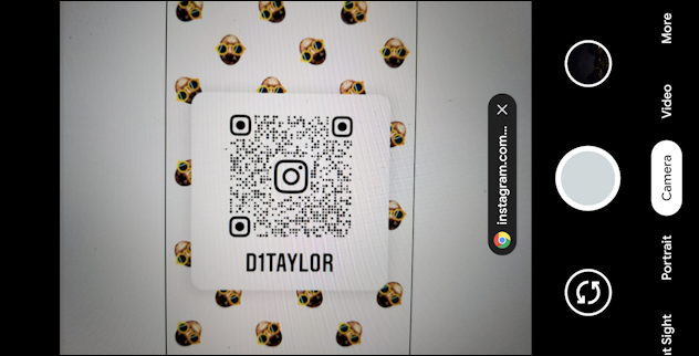 android camera - scan qr code - pixel 4a