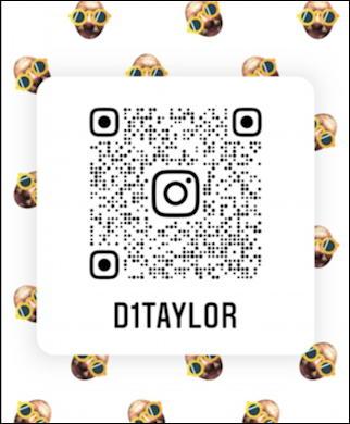 instagram qr code - d1taylor