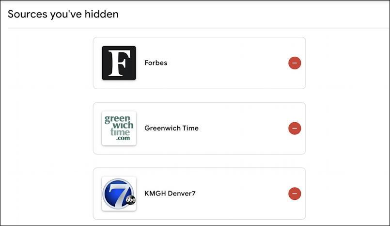 google news - gnews - hidden sources