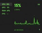 win10 performance monitor - task monitor / xbox game bar