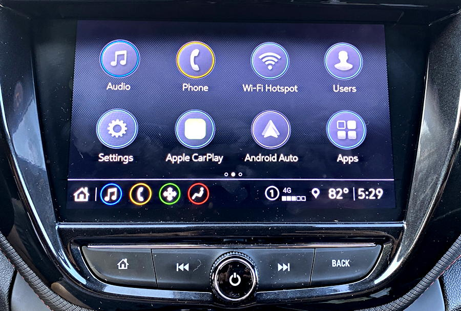 chevy chevrolet infotainment 3 plus - unpair bluetooth phone - home screen