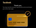 facebook privacy policy verify account phishing scam attack