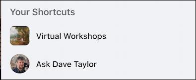 rename facebook group - shortcuts shorter new name