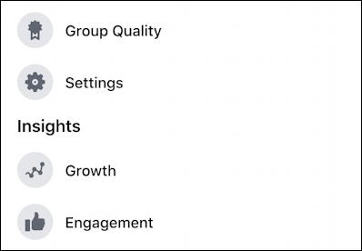 rename facebook group - group settings