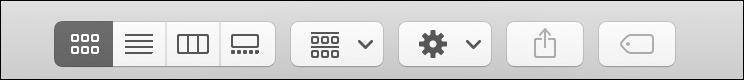 mac finder toolbar