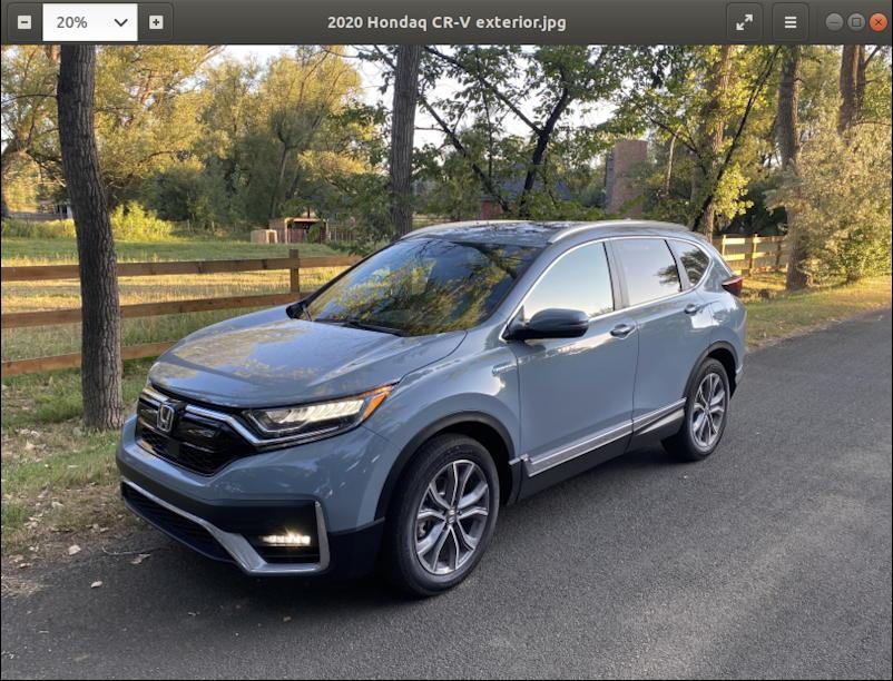 car photo - linux photo viewer