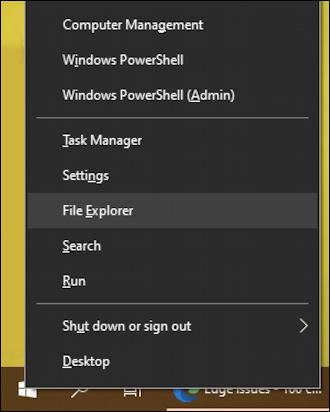 win10 - right-click - start menu - settings - downloads
