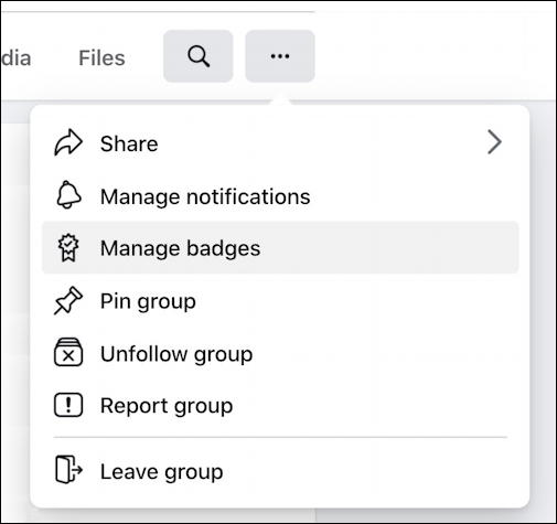 facebook group settings menu