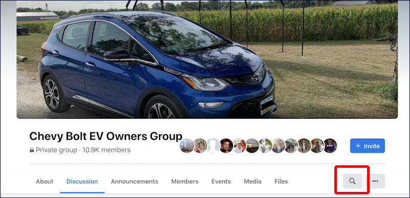 facebook chevy bolt ev group home page