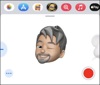iphone create memoji - animoji facial expression