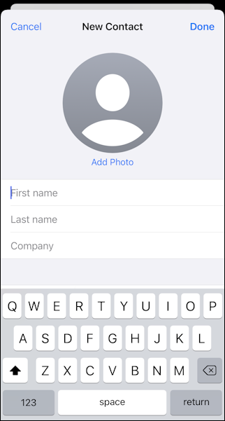 iphone ios - assign name picture - venmo