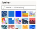 outlook.com theme appearance colors personalize how to
