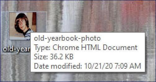 windows 10 webp graphics file - info pop-up