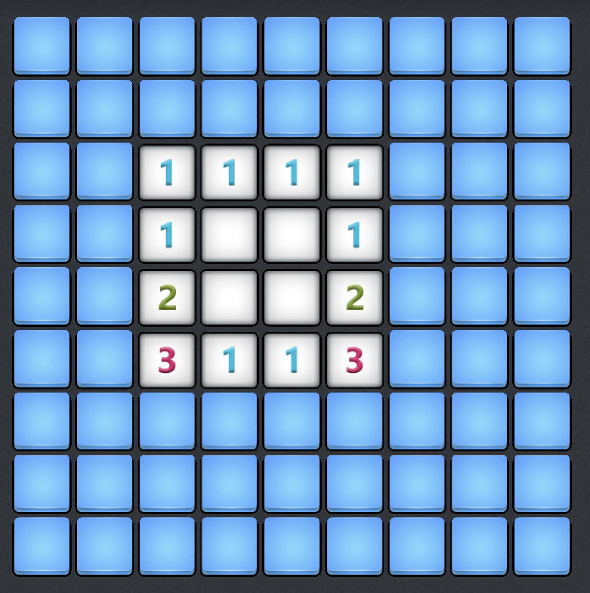 microsoft minesweeper win10 - dense challenging grid