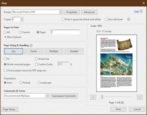 how to customize print printer pdf output windows win10