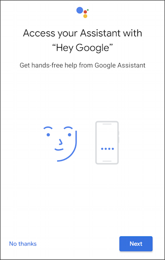 teach voice match android google assistant
