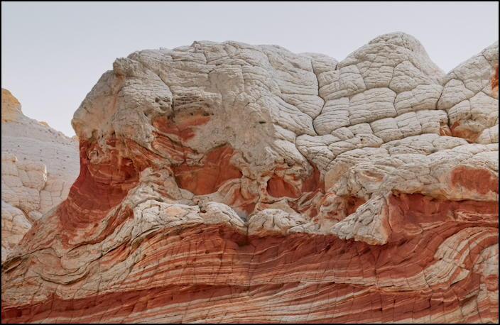 high desert rock formation