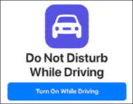 how to enable do not disturb while driving mode iphone android
