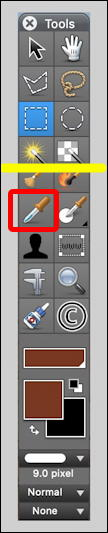 mac graphicconverter eyedropper tool