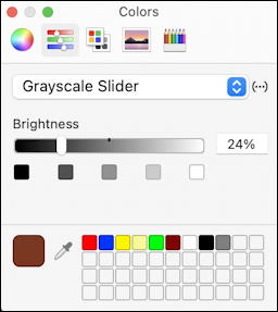 mac graphicconverter - colors greyscale slider