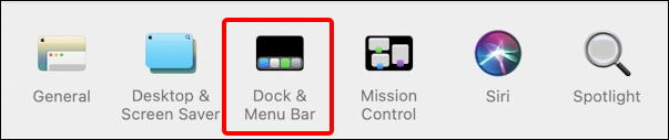 macos 11 big sur - system preferences - dock and control center