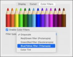 protanopia deuteranopia tritanopia color vision accessibility macos 11 big sur fix change