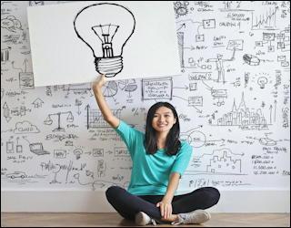 how to start seo strategy - woman idea marketing business