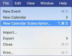 subscribe canvas lms calendar on mac macos calendar ical