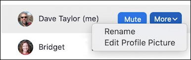 zoom rename during meeting profile picture