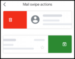 gmail for mobile iphone - mark as unread - swipe actions