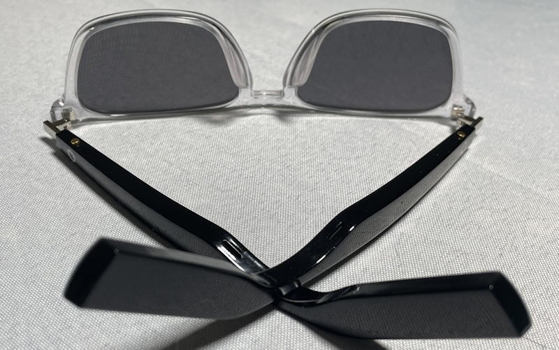 lucyd lyte bluetooth sunglasses - temples and temple tips