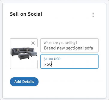 paypal sell on social instant commerce - photo and price