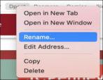 mac apple safari manage bookmarks favorites
