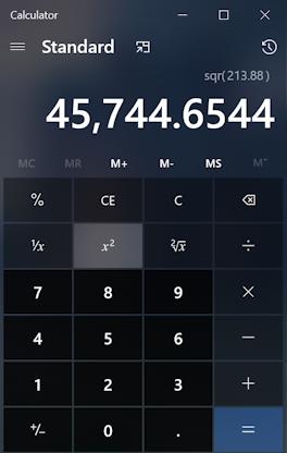 win10 pc calculator app program - basic