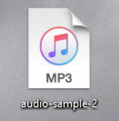 windows 10 pc - mp3 audio file icon