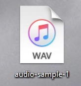 audio-sample icon windows WAV