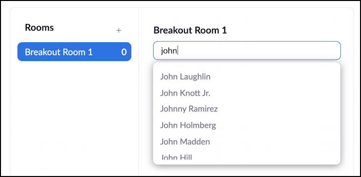 zoom pre-assign breakout rooms zoom.us first student