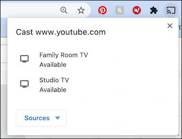 google chrome cast chromecast to tv