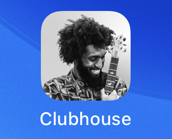 clubhouse audio chat app - icon
