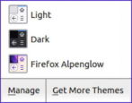 how to apply themes - game of thrones - firefox linux