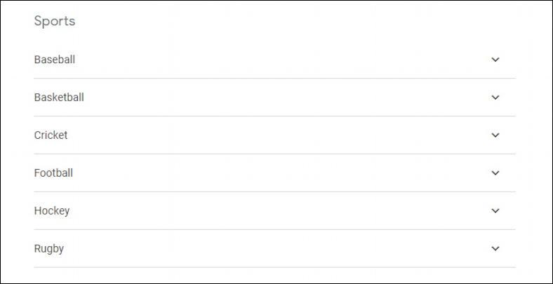 google calendar - subscribe - sports team schedules