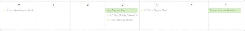 google calendar with national holidays uk