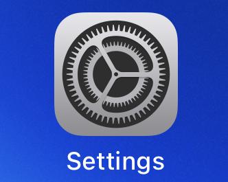 ios14 settings app icon iphone ipad