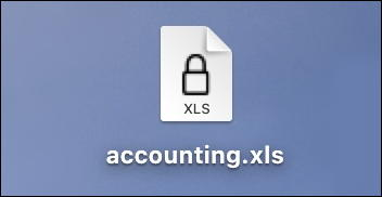 microsoft excel for mac - mac icon password protected xls