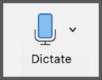how to use dictation dictate voice in microsoft word office mac windows pc