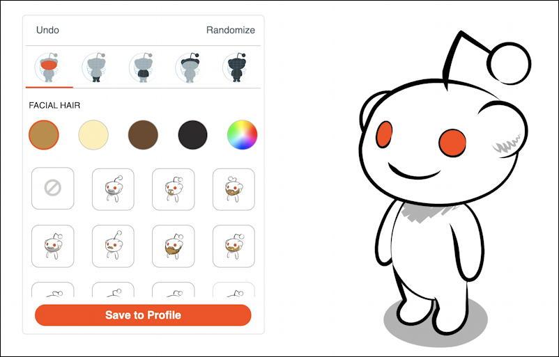 reddit snoo avatar - how to create - basic