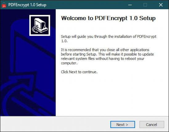 windows 10 win10 pc - password protect encrypt pdf - pdf encrypt installer