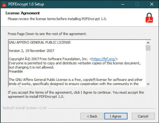 windows 10 win10 pc - password protect encrypt pdf - pdf encrypt license terms gnu