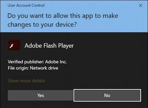 windows adobe flash - safely uninstall - allow run on pc